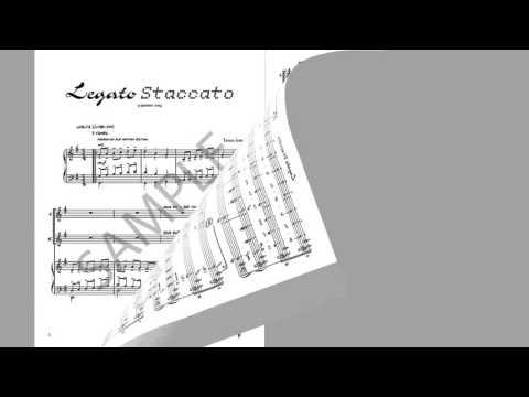 Legato Staccato - MusicK8.com Singles Reproducible Kit