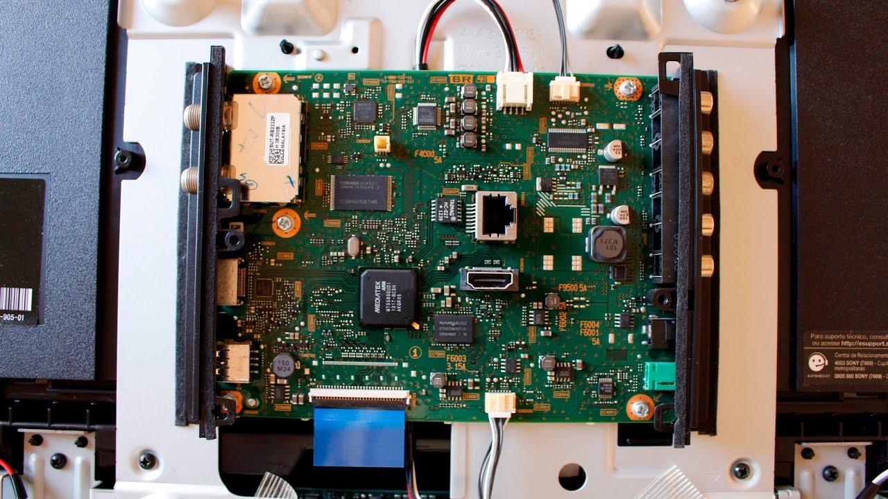 Disassemble    Desmontando Tv Sony Kdl 32r435a