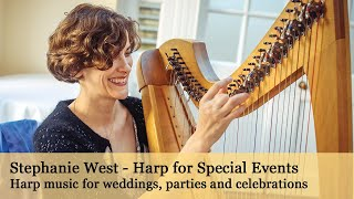 Oxford Wedding Harp - Stephanie West - Harp for Special Events