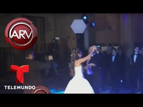 Chayanne baila Tiempo de Vals en fiesta de 15 de su hija   Al Rojo Vivo   Telemundo