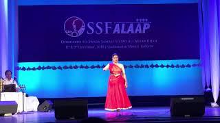 Saberi Misra | Kathak Solo | Swara Samrat Festival Kolkata | Jaipur Gharana