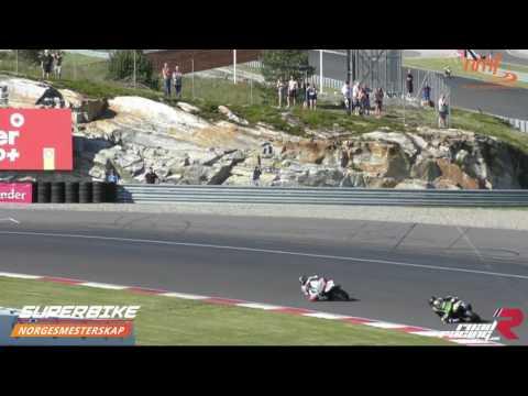 Norgesmesterskap - Superbike - race 4 - 2016 - Rudskogen