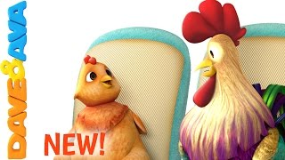 🐓 The Wheels on the Bus Song – Part 3 | Nursery Rhymes and Baby Songs from Dave and Ava 🐓