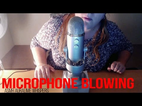 ASMR | Microphone Blowing ((HARSH SOUNDS)) - Short Video!