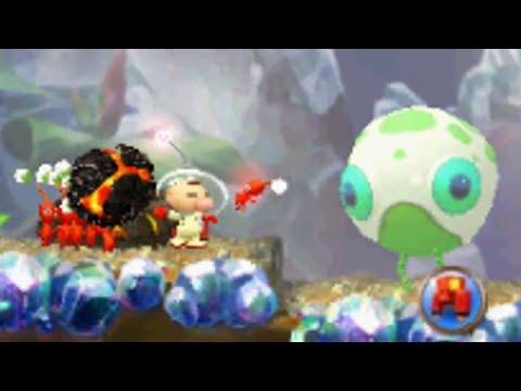 Hey! Pikmin - Walkthrough Part 3 - Sector 3: Sparkling Labyrinth (All Treasures)