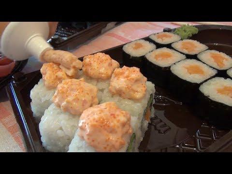 Доставка роллов и суши в Красноярске. Отмечаем ДР