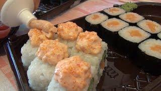 видео заказать суши на дом