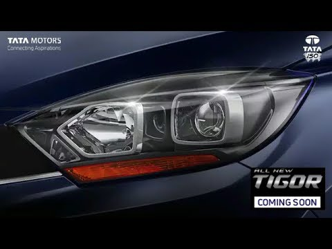 Teased | 2018 Tata Tigor Facelift Gets Projector Headlamps | Launch Details
