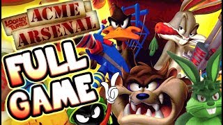 Looney Tunes: Acme Arsenal Walkthrough FULL GAME Longplay (X360, Wii, PS2)