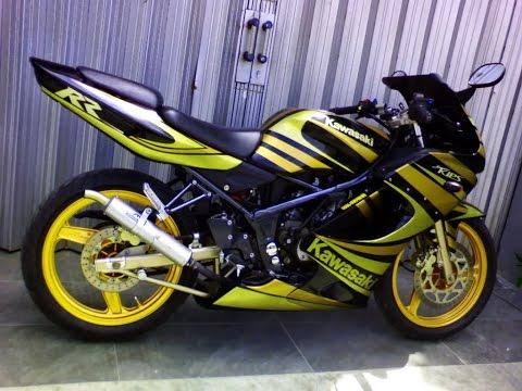 Motor Trend Modifikasi | Video Modifikasi Motor Kawasaki Ninja RR 150 Cutting Sticker Terbaru