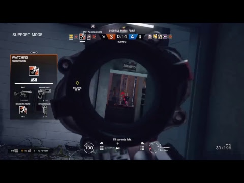 RAINBOW 6 [PS4] [LIVE] RANKED ! ROAD TO 100 SUB ! MALAYSIA GAMER!