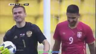 Россия-Сербия 1-1 Обзор матча Товарещеский матч 05.06.2016
