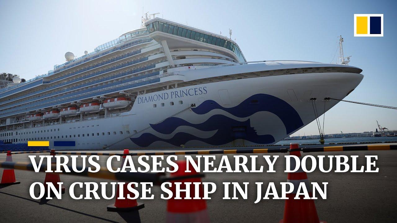 Coronavirus infections nearly double on Diamond Princess ship ...