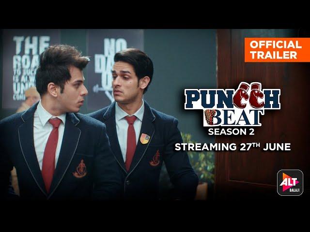 Puncch Beat Season 2 Official Trailer  Priyank Sharma, Siddharth Sharma, Samyuktha Hegde   ALTBalaji