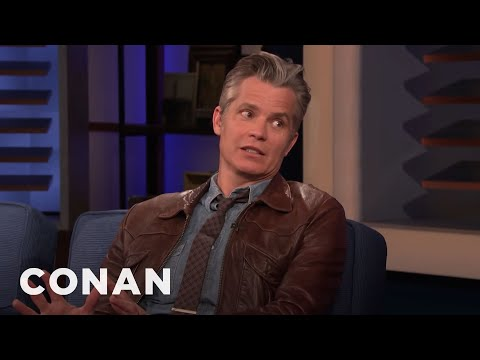 """Timothy Olyphant: Working On """"Once Upon A Time In Hollywood"""" Was A Dream Come True - CONAN on TBS"""