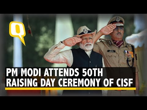 PM Modi Addresses 50th Raising Day Ceremony of CISF in Ghaziabad