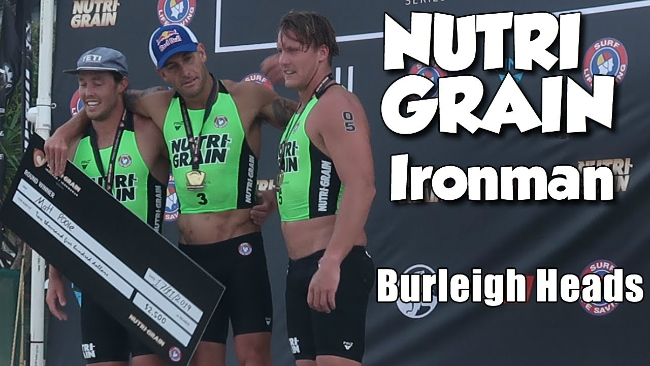 Nutri-Grain Ironman Event - Burleigh Heads 2019