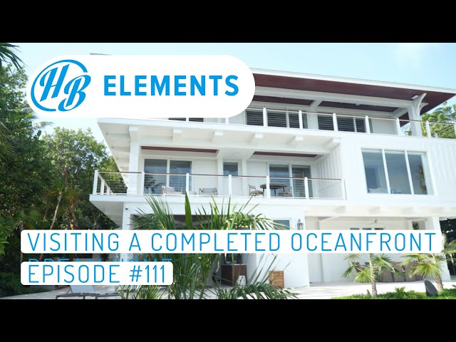 Visiting a Completed Oceanfront Dream Home | Hardie Boys Episode #111