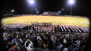 Walker Valley High School Marching Band Gangnam Style October 26, 2012