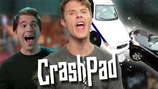 GTA CAR CRASH FAIL!!! w/ SHANE DAWSON - CrashPad