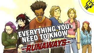 Marvels Runaways - Everything You Need to Know The Dan Cave w Dan Casey