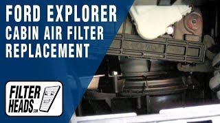How to Replace Cabin Air Filter Ford Explorer