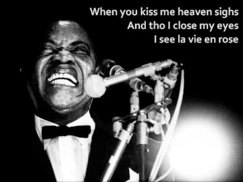 La Vie en Rose - Louis Armstrong (Lyrics)