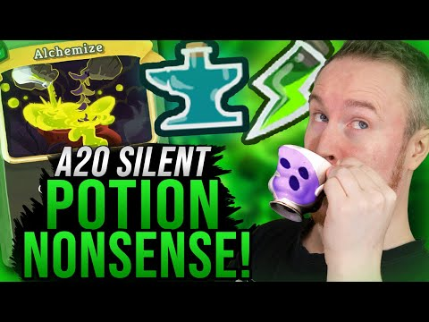 Absolute Potion Nonsense!   Ascension 20 Silent Run   Slay the Spire