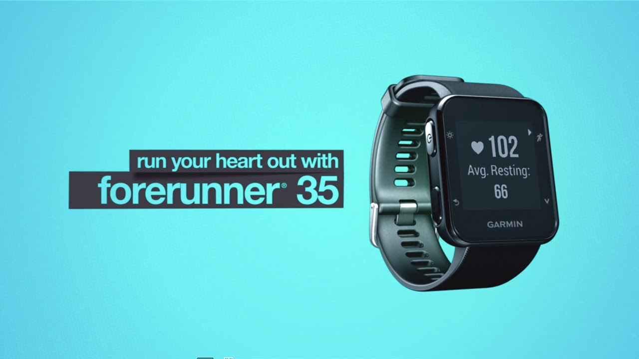 669514dcc1eae2 Forerunner 35: Easy-to-use GPS Running Watch with Wrist Heart Rate. Garmin