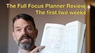 Full Focus Planner: First Two Weeks of Use