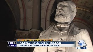My Ohio | Casket of Pres. James A. Garfield is the only U.S. presidential resting site above ground