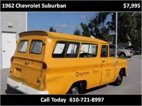 1962 chevrolet suburban used cars west chester pa youtube. Black Bedroom Furniture Sets. Home Design Ideas