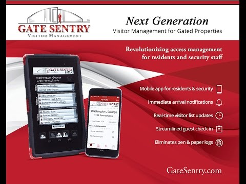 Gate Sentry Visitor Management