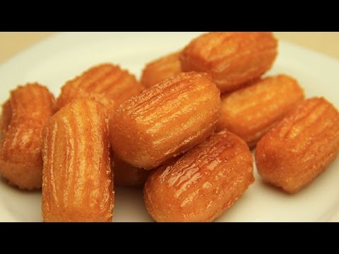 Turkish Tulumba Recipe - Fried Sweet Dough with Sugar Syrup