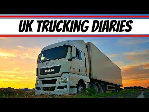 UK Trucking Diaries ~ local deliveries