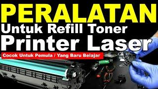 PERALATAN REFILL PRINTER LASERJET, alat untuk refill catridge toner printer laser