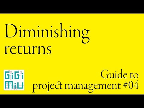 Guide to project management #04 Diminishing returns