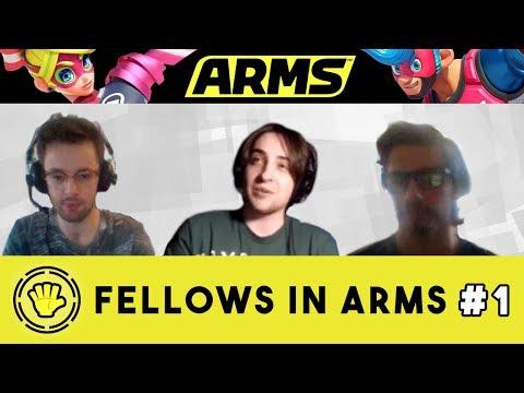 ※ Fellows in ARMS #1 (Nintendo ARMS Talk Show)