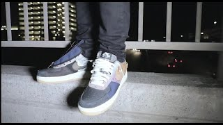 CACTUS JACK AIR FORCE 1 REVIEW AND ON FEET!!!!!