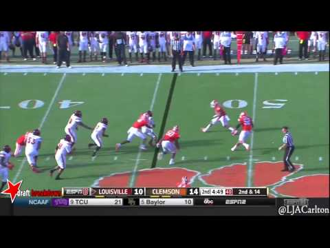 Garry Peters vs. Louisville 2014