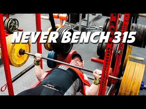 Why SOME Lifters Will NEVER Bench Press 315