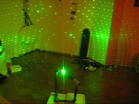 Diy How To Make A Green Laser Projector In 20 Minutes