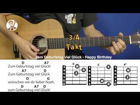 Happy Birthday Gitarren Noten Georg Norberg S Gitarrenblog