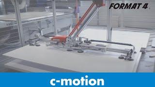 Format-4 Plattenaufteilsäge & CNC mit barbaric Flächenlagersystem CSF