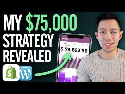 I Made $73,893 ONLINE with Dropshipping – Here's How! (FULL Strategy) thumbnail