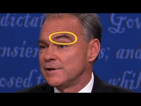 Tim Kaine and the brow debate