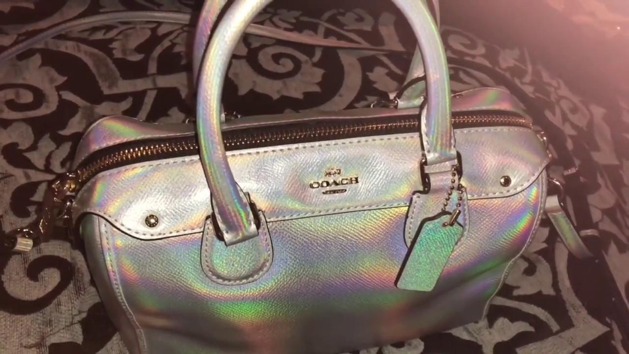 Review On Coach Hologram Bag