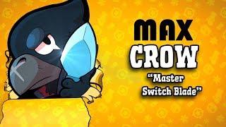 Brawl Stars Legendary Max Crow with star ability Pro Gameplay! *INSANE*