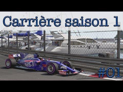 F1 2017 Mode Carrière #1: une Toro Rosso à moteur Honda