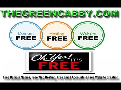 How To Get FREE DOMAIN NAMES, FREE WEB HOSTING, FREE WEBSITE CREATION & FREE EMAIL ACCOUNTS